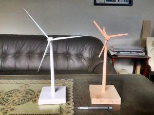 風力発電模型